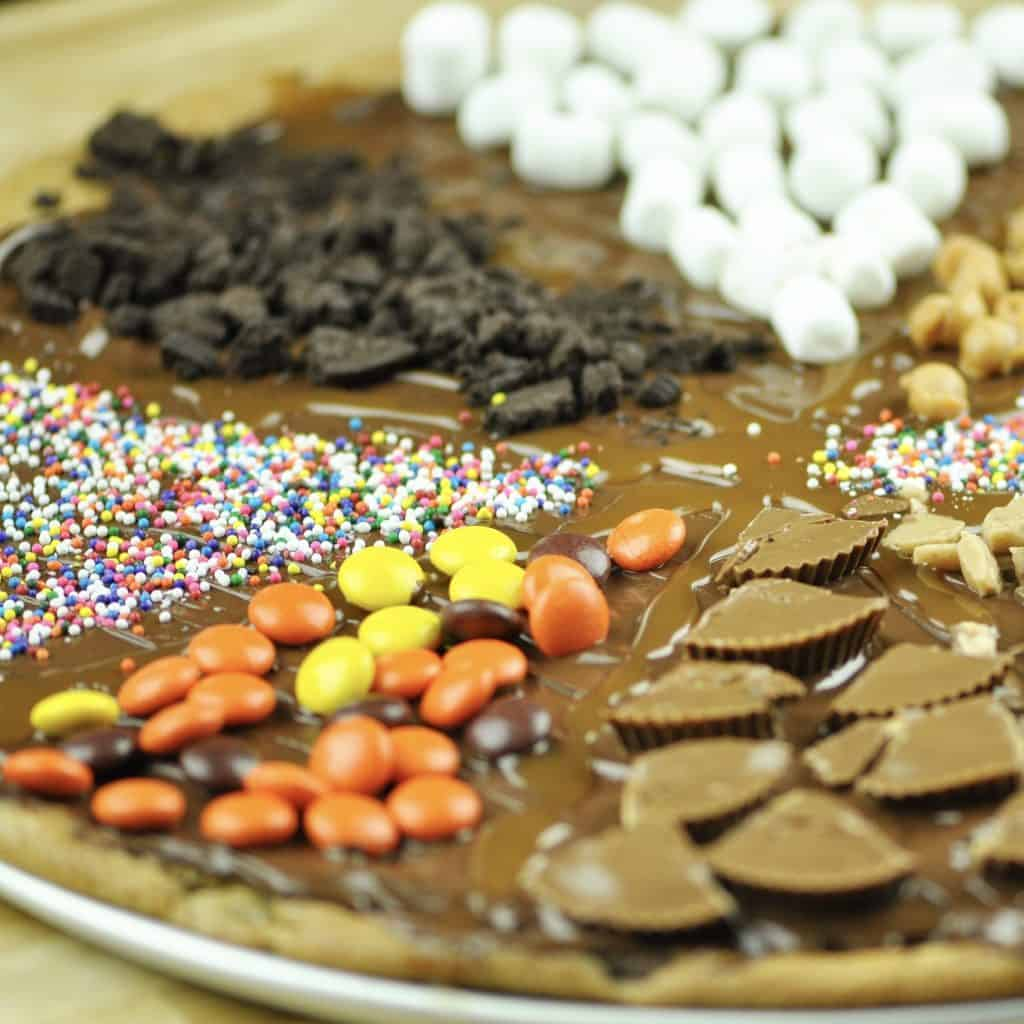 Chocolate Chip Cookie Pizza Food Dolls